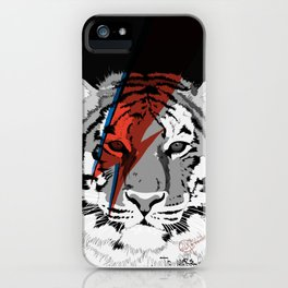 Bowie inspiration! iPhone Case