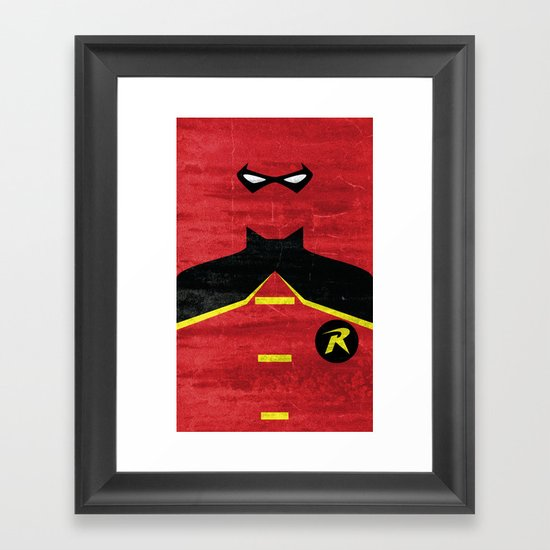 Boy Wonder Framed Art Print