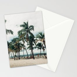 Palms on the Beach Stationery Cards