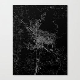 tucson map Canvas Print