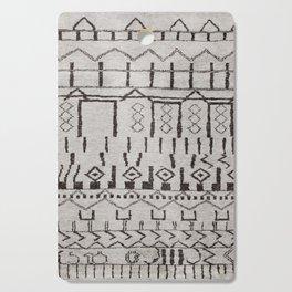 (N7) Original Moroccan Brown Artwork Cutting Board