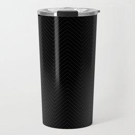 Chevron Pinstripe Travel Mug