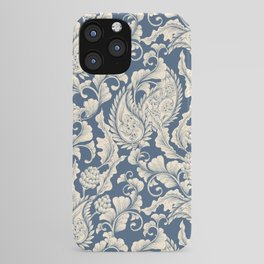 Vintage & Shabby Chic - William Morris Classic Blue Antique Floral iPhone Case