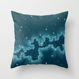 Northern Skies II Throw Pillow
