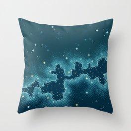 Northern Skies II Throw Pillow