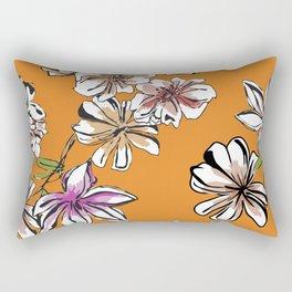 Pattern Floral Rectangular Pillow