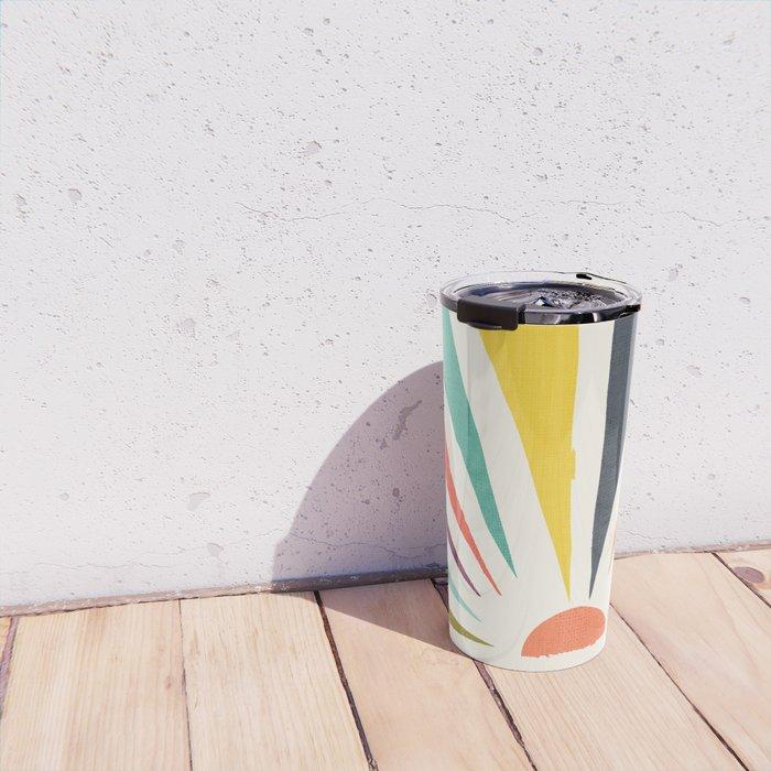 Rainbow ray Travel Mug
