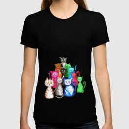 Gang of cats T-shirt