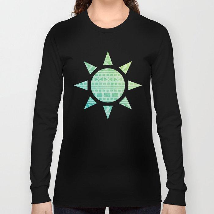 Aztec Pattern 07 Long Sleeve T-shirt