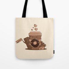Caffeinated Love Tote Bag