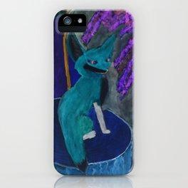 Fox of Karlie (Inverted) iPhone Case