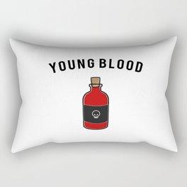 Young Blood Rectangular Pillow
