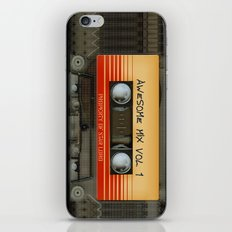 Awesome transparent mix cassette tape volume 1 iPhone 4 4s 5 5c 6, pillow case, mugs and tshirt iPhone & iPod Skin