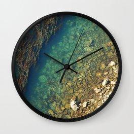 Beach pattern Wall Clock