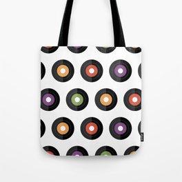Vinyl times Tote Bag