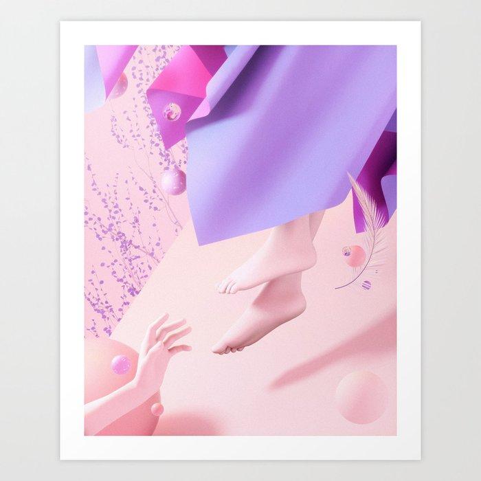 Out of reach Art Print