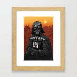 Leo, i am your father... Framed Art Print