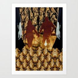 Eureka Paprika Art Print