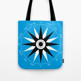 Mariner's Compass Tote Bag