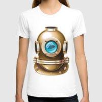 underwater T-shirts featuring Underwater by Texnotropio