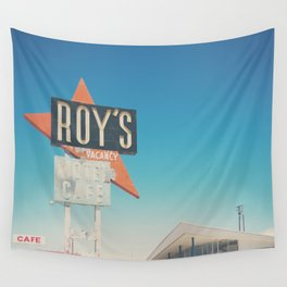 Roys Motel & Cafe ... Wall Tapestry