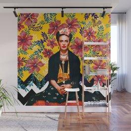 Frida Tropical Wall Mural