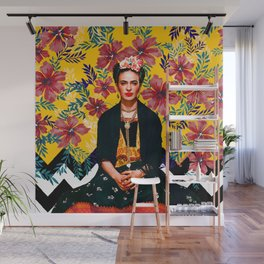 Frida Tropical Wall Mural