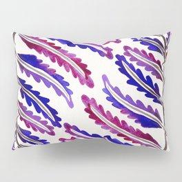 Fern Leaf – Indigo Palette Pillow Sham