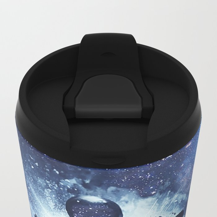 This is Travel Metal Travel Mug