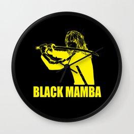 Black Mamba v2 Wall Clock