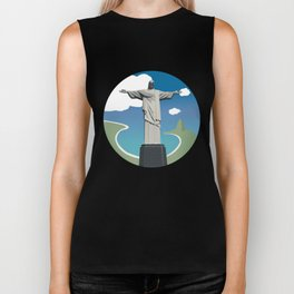 Christ the Redeemer Biker Tank