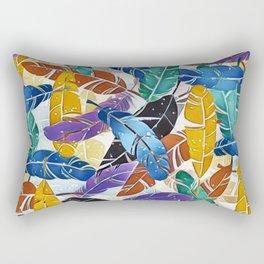 Fabulous Feathers Rectangular Pillow