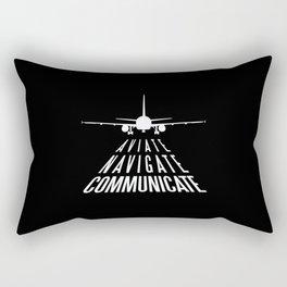 AVIATION QUOTE Rectangular Pillow
