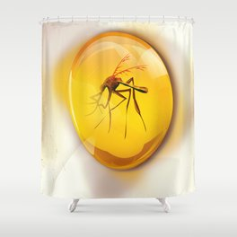 Life Will Find a way. Shower Curtain
