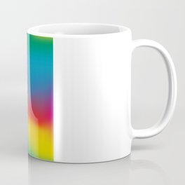 Abstract Colorful Aurora Coffee Mug