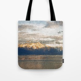 Yet another lake & mountain landscape | 2 Tote Bag