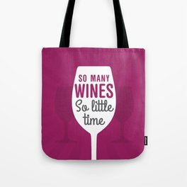 So Many Wines Tote Bag