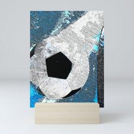 Soccer art vs 1 cx Mini Art Print
