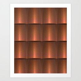 copper work Art Print