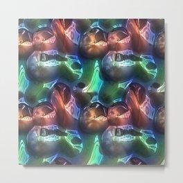 3d bumpy texture Metal Print
