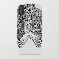 lungs iPhone & iPod Cases featuring Lungs by Orange Blood Gallery