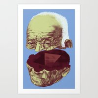About Knowledge and Experience Art Print