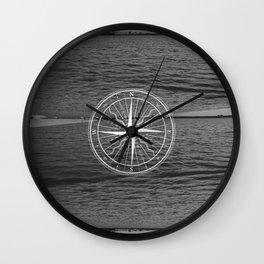 The Black Sea Wall Clock
