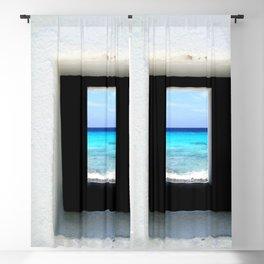 Portal to the Ocean, Bonaire  Blackout Curtain