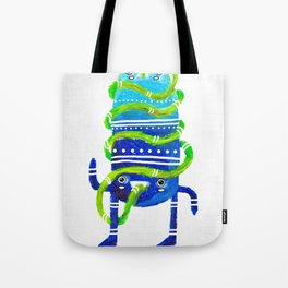 Mr Tubeface Tote Bag