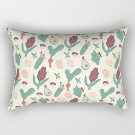 Girls love vegetables Rectangular Pillow