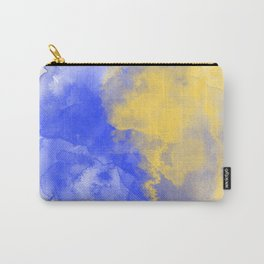 10 | Abstract Watercolor Painting| 210713 | Minimalist| Valourine Original Digital Art  Carry-All Pouch