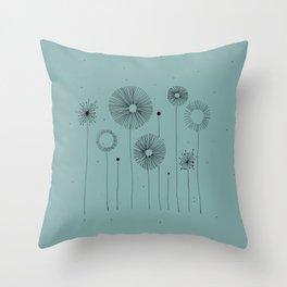 Vintage Kia Throw Pillow