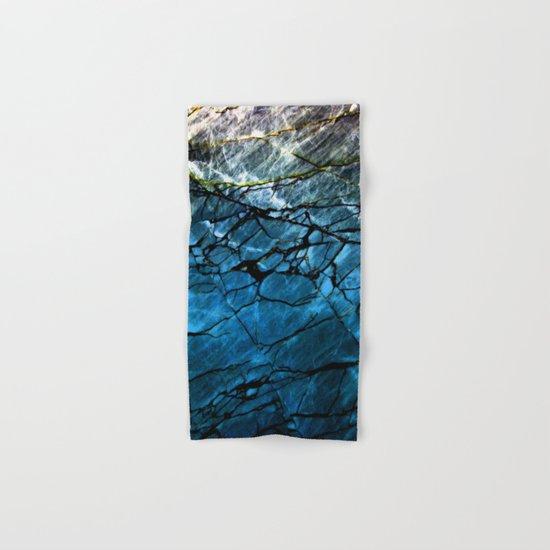 Blue Labradorite Crystal Hand & Bath Towel