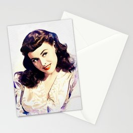 Paulette Goddard, Hollywood Legend Stationery Cards